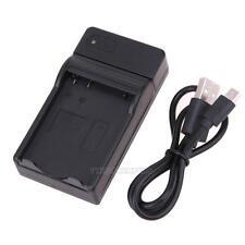Black EN-EL14 USB Battery Charger for Nikon Camera D5300 D3100 D3300 P7700 P7800