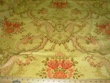 "~20 YDS~FABRICUT~VELVET VICTORIAN ""ANSLEY HONEY""~UPHOLSTERY FABRIC FOR LESS~"