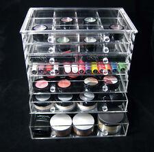 Acrylic Cosmetic Organizer 7 Drawer Vanity Beauty Storage Box Display #5696