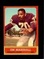 1963 TOPPS #107 JIM MARSHALL NM (RC) VIKINGS  *XR23468