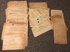 Ephrata PA 1900s Railroad Shipping Bill Letterhead Lot Phila & Reading