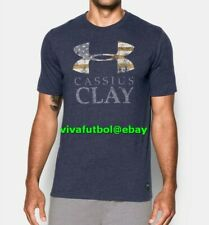 NEW Under Armour Mens UA x Muhammad Ali Collection Cassius Clay USA T-Shirt Tee