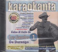 Los Canelos De Durango Vol 1 Karaoke New Nuevo Sealed