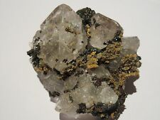 Octahedral Clear Fluorite Specimen - Inner Mongolia