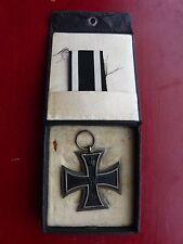 Cased WW1 German Iron Cross-All Original