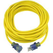 Clear Power 50 ft Extra Heavy Duty Contractor Grade Extension Cord, Cp10175