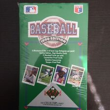 Factory Seal 1990 Upper Deck Baseball Low Number Box (36 packs/15 cards/1 holo)