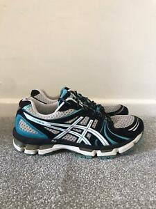 Asics Gel Kayano 18 Trainers Size 7 Blue Running Shoes Lace Up Sneakers