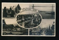 Wales Mon Monmouthshire NEWPORT M/view c1920/30s? RP PPC