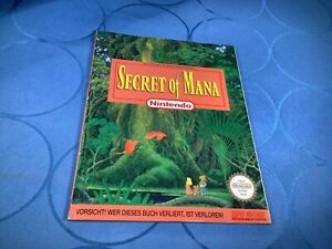 Lösungsbuch - SECRET OF MANA Super Nintendo Snes - Der Offizielle Spieleberater