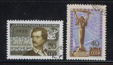 RUSIA-URSS/RUSSIA-USSR 1959 USED SC.2268/2269 Soviet-Hungarian friendship