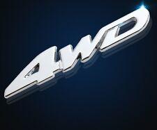 3d car sticker 4-wd 4 Wheels Drive Highlander ruedas asx SUV rav4 nales metal
