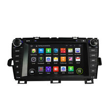 "8"" Android Car Sat DVD GPS player Radio Stereo for Toyota Prius 2009 - 2015 Left"