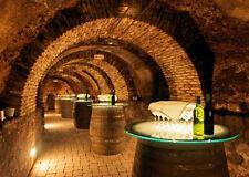 Lenticular 3D Postcard Wine Cellar Greeting Card