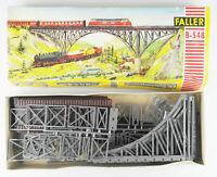 FALLER B-548 Spur H0 Stahlbrücke, Bausatz, OVP