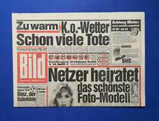 Bild Zeitung -    30. 12.1986 - Rock & Pop und irre Typen  Heute: Modern Talking