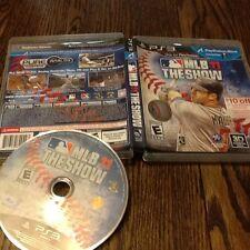 MLB 11: The Show (Sony PlayStation 3, 2011) USED BASEBALL PS3 FREE USA SHIPPING