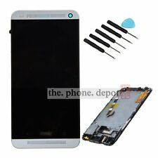HTC One 801e M7 White LCD Display & Touch Screen Digitizer Assembly Replacement