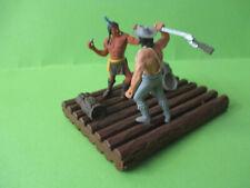 Timpo Umbauten Indianer Cowboy Floss