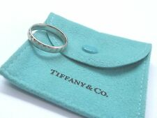 Tiffany & Co Platinum Paloma Picasso True Love 24-Hour Band Ring Sz 9.5