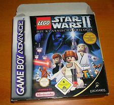 Nintendo DS Lego Star Wars II la clásica trilogía juego Lucas Arts