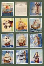Tobacco Cigarette cards Ships that have made history, Titanic, Queen Mary etc