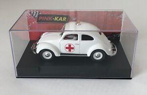 Pink-Kar CV023 VW Beetle Doctor 1/32 Scale Slot Car
