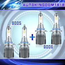 H7 2Side LED CSP Headlight Kits Bulb Low Beam for Porsche Boxster 2001-2015