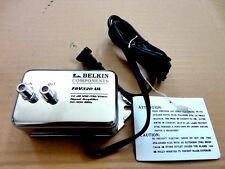 "10dB Indoor FM/VHF/UHF Signal Amplifier, Belkin ""UL Listed"" Silver"