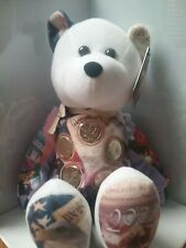 Gallery Treasures Plush Bear 5 Gold Coins  State Quarters