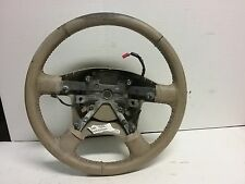 03 04 05 06 Ford Expedition tan leather steering wheel worn see photos OEM