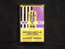 NEWCASTLE UNITED fridge magnet FAIRS CUP FINAL 1969