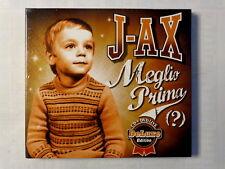 J - AX  -  MEGLIO PRIMA ? -  DELUXE EDITION -  CD+ DVD LIVE -  NUOVO E SIGILLATO