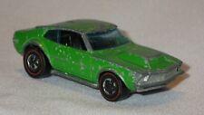 1969 HOT WHEELS REDLINE STREET SNORTER GREEN Mattel