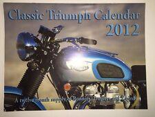 Classic Triumph Calendar 2012- Bonnies, Trophys, and T-birds motorcycle bike
