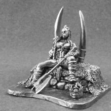ORC Queen Female Warrior Fantasy Toy Soldiers Girl 54mm Miniature 1/32 Figure