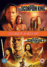 The Scorpion King/The Scorpion King 2 - Rise Of A Warrior (DVD, 2009, 2-Disc Set
