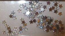 Strass Steinchen Steine silber Stern 3mm, Strasssteinchen, Einleger