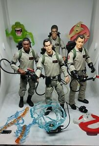 Ghostbusters Movie Figures lot Mattel, Egon Winston Ray Peter Venkman & Slimmer