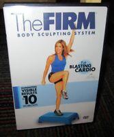THE FIRM - LISA KAY: FAT BLASTING CARDIO WORKOUT DVD, BURN FAT, TONE BODY, GUC
