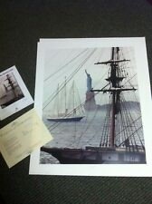 ROD CHASE  SN Lithograph: GRAND LADY (Statute of Liberty) Ed. 500 Famous >30""