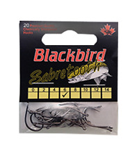Blackbird Redwing Sabretooth Hooks Size 8 20pack $2.50 US Combined Shipping*