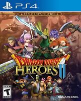 PLAYSTATION 4 PS4 GAME DRAGON QUEST HEROES II EXPLORER'S EDITION NEW SEALED