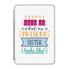 """Questo è ciò che una fantastica sorella sembra Case Cover Per Kindle 6"""" e-Reader"""