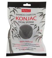 BEAUTY FORMULAS BAMBOO CHARCOAL KONJAC FACIAL SPONGE