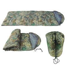Tourbon Military Sleeping Bag Sleep Envelope Case Army Camp Travel Camo Outdoor