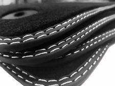 Top Fußmatten für VOLVO XC60 Original Qualität Doppelnaht silber Design Velours