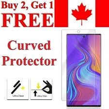 Curved Edge TPU Screen Protector for Samsung Galaxy Note 20 Ultra 10 Plus 9 8