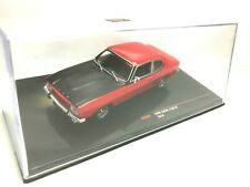 IXO MODELS 1/43 FORD CAPRI 1700 GT 1970 CLC258 ROJO NEGRO RED BLACK