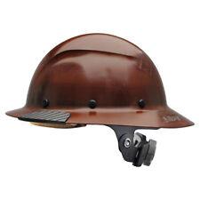 Lift Safety Hdf 15ng Dax Fiber Resin Full Brim Hard Hat Natural